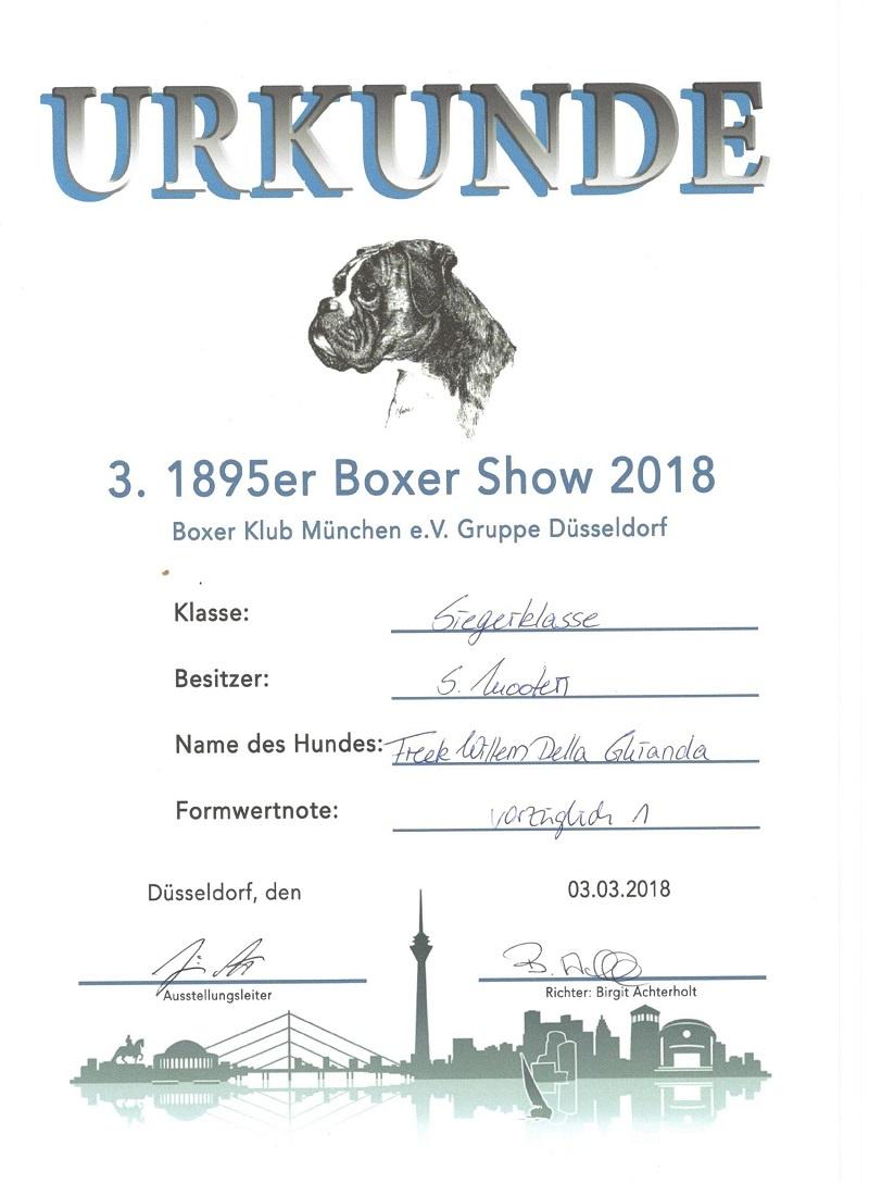 Fre Dogshow Dusseldorf 3-3-2018