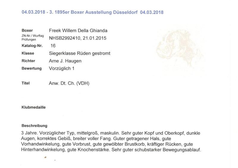 Fre Dogshow Dusseldorf 4-3-2018