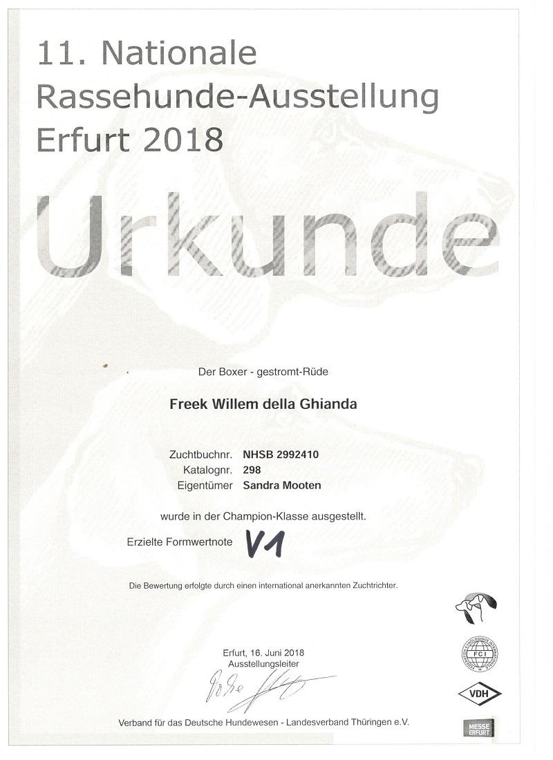 Fre Dogshow Erfurt 2018