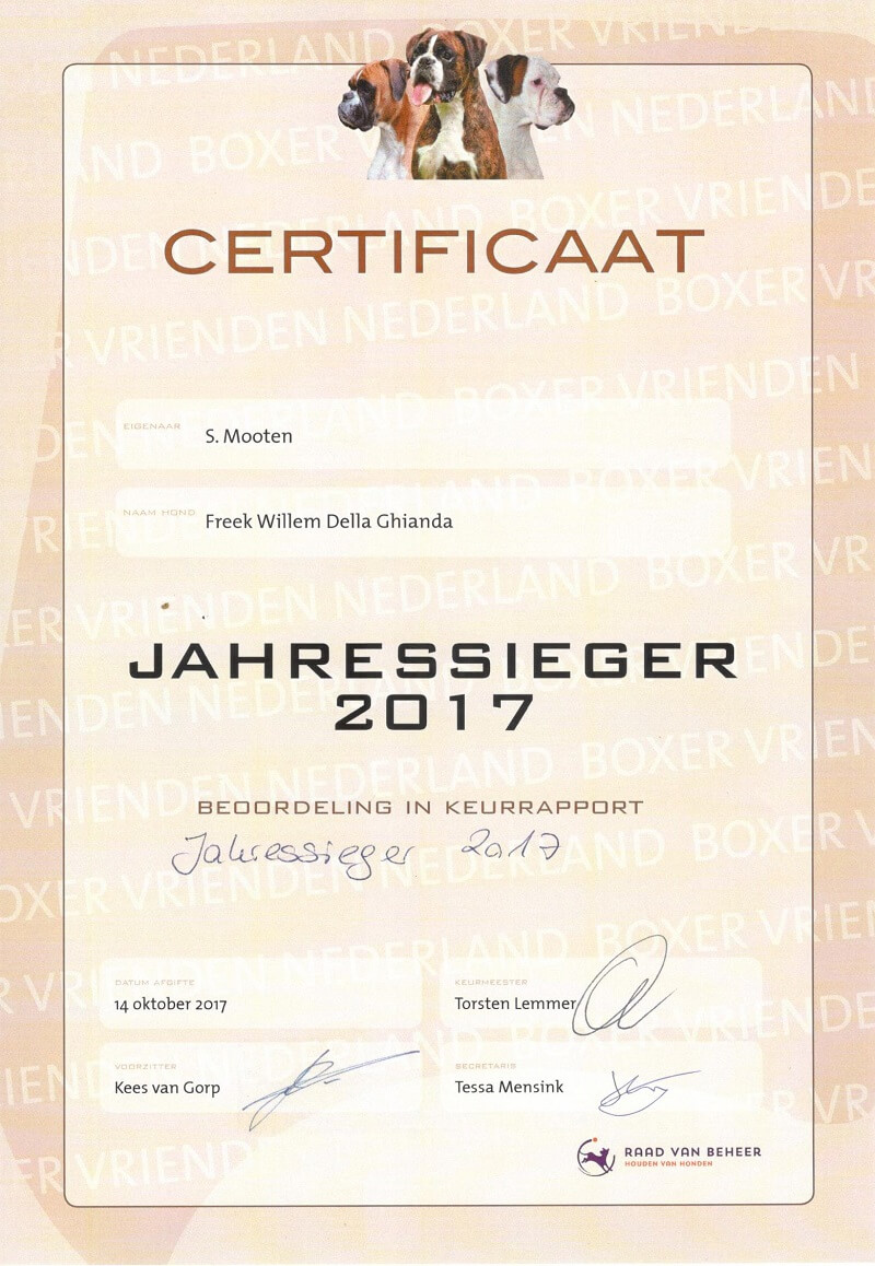 re Jahressieger 2017