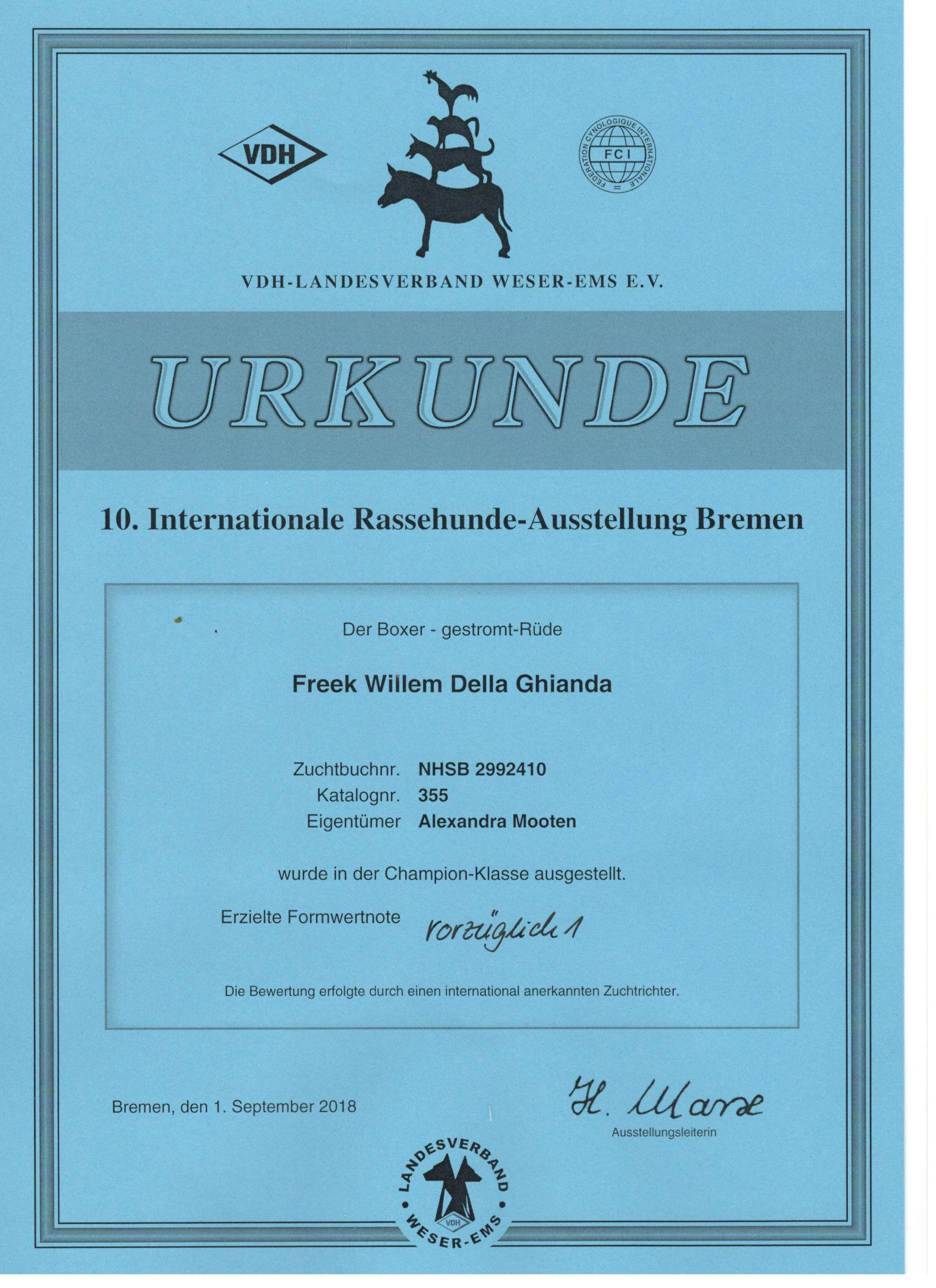 Int. Bremen
